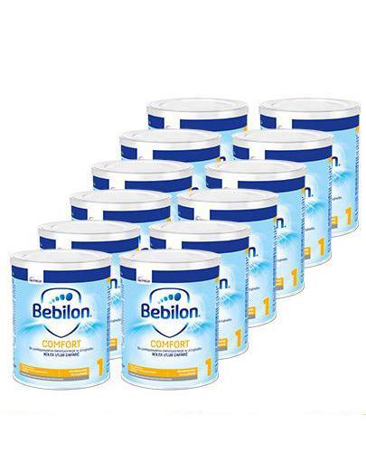 BEBILON 1 COMFORT PROEXPERT Mleko modyfikowane w proszku - 12x400 g - cena, opinie, wskazania