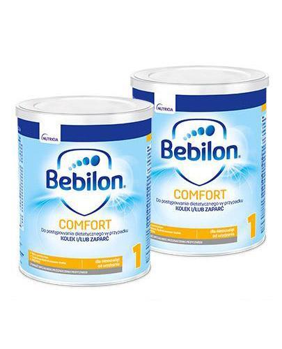 BEBILON 1 COMFORT PROEXPERT Mleko modyfikowane w proszku - 2x400 g
