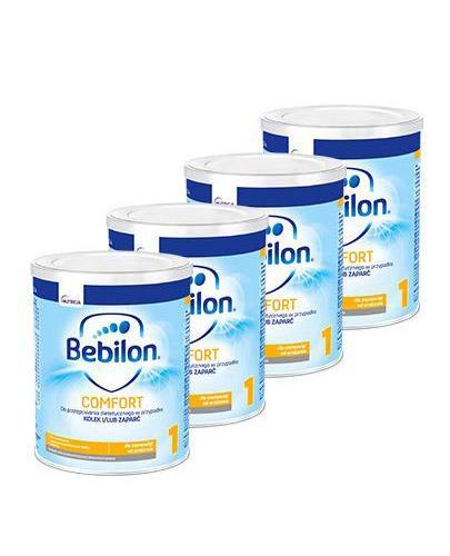 BEBILON 1 COMFORT PROEXPERT Mleko modyfikowane w proszku - 4x400 g - cena, opinie, właściwości  - Apteka internetowa Melissa