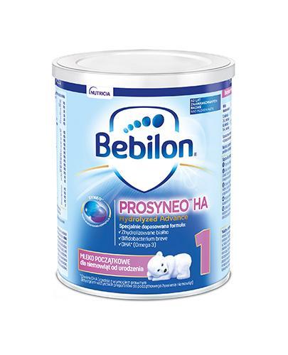 BEBILON 1 HA PROSYNEO Mleko modyfikowane w proszku - 400 g - cena, opinie, wskazania