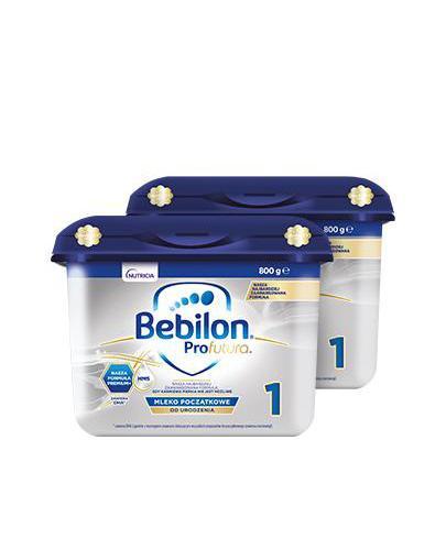 BEBILON 1 PROFUTURA Mleko modyfikowane w proszku - 2x800 g - Apteka internetowa Melissa