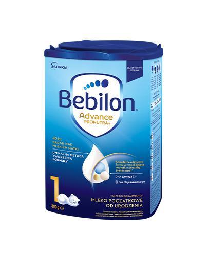 BEBILON 1 Pronutra-Advance Mleko modyfikowane, początkowe - 800 g - cena, opnie, wskazania - Apteka internetowa Melissa