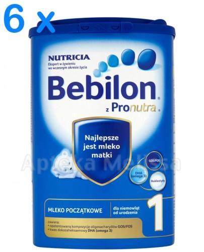 BEBILON 1 Z PRONUTRA Mleko modyfikowane w proszku - 6 x 800 g - Apteka internetowa Melissa