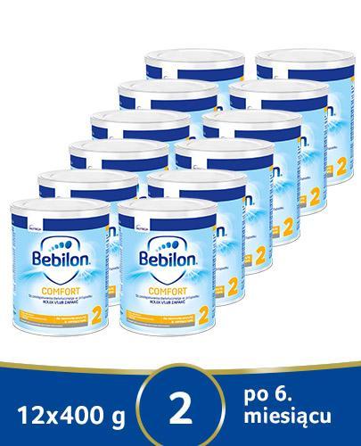 BEBILON 2 COMFORT PROEXPERT Mleko modyfikowane w proszku - 12x400 g - cena, opinie, wskazania