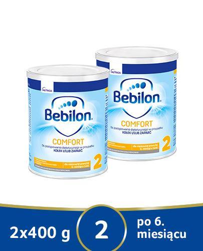 BEBILON 2 COMFORT PROEXPERT Mleko modyfikowane w proszku - 2x400 g - cena, opinie, wskazania