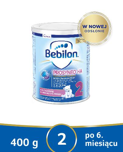BEBILON 2 HA PROSYNEO Mleko modyfikowane w proszku - 400 g