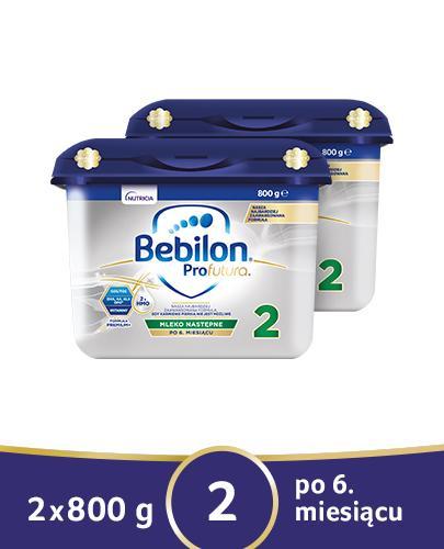 BEBILON 2 PROFUTURA Mleko modyfikowane w proszku - 2x800g - Apteka internetowa Melissa