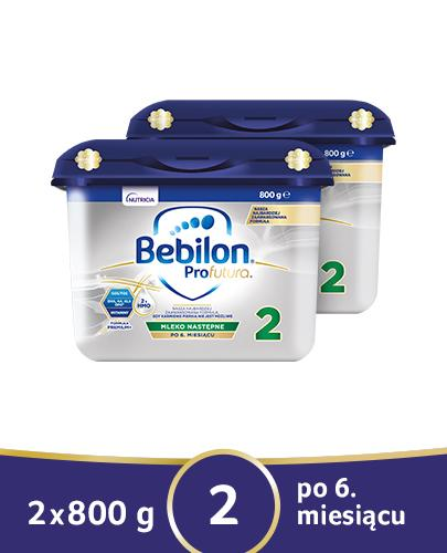 BEBILON 2 PROFUTURA Mleko modyfikowane w proszku - 2x800g - cena, opinie, właściwości