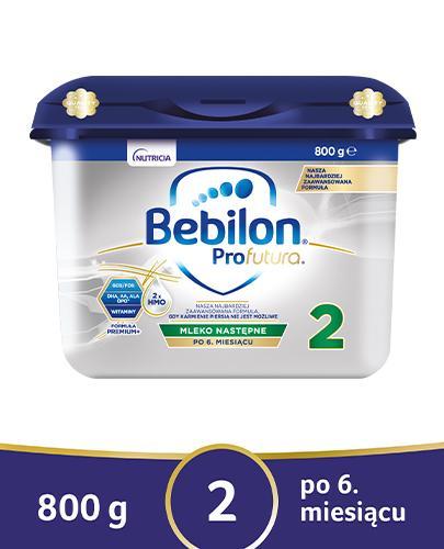 BEBILON 2 PROFUTURA Mleko modyfikowane w proszku - 800 g - cena, opinie, właściwości