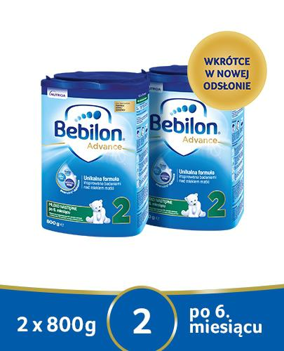 BEBILON 2 Pronutra-Advance Mleko modyfikowane w proszku - 2x800g