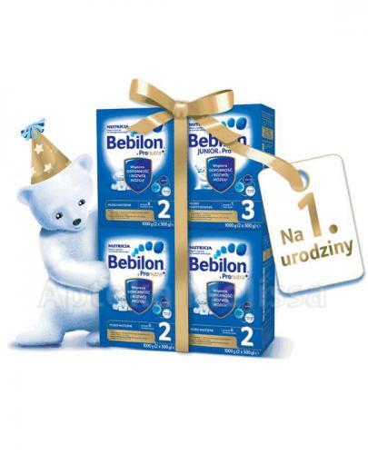 WIELKA PAKA DLA ROCZNIAKA 3 x Bebilon 2  z Pronutra+  1200g + Bebilon 3 Junior  z Pronutra + 1200g - 30% - Apteka internetowa Melissa
