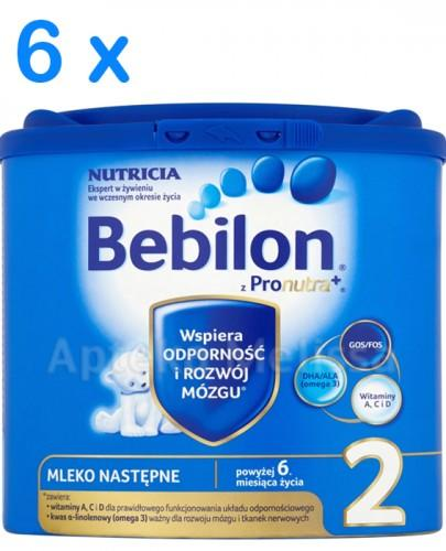 Bebilon 2 z Pronutra Mleko modyfikowane w proszku - Apteka internetowa Melissa