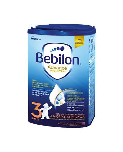 Bebilon 3 Junior z Pronutra Mleko modyfikowane w proszku - Apteka internetowa Melissa