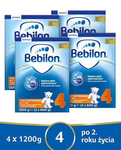 BEBILON 4 JUNIOR Pronutra-Advance Mleko modyfikowane w proszku - 4x1200g