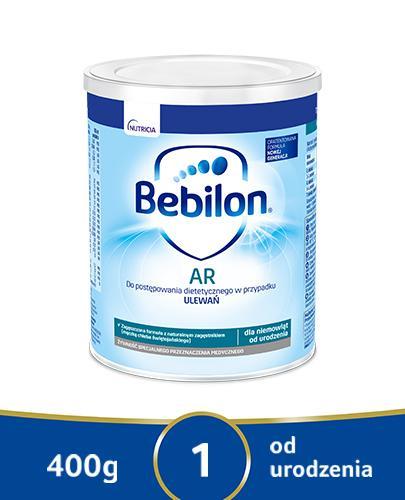 BEBILON AR PROEXPERT Mleko modyfikowane początkowe przeciw ulewaniom  - 400 g