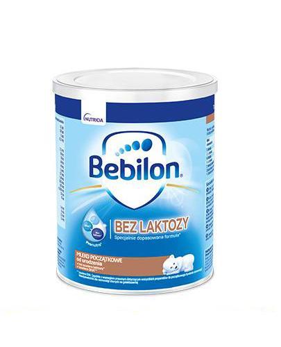 BEBILON Bez laktozy - 400 g - Mleko początkowe - cena, opinie, stosowanie
