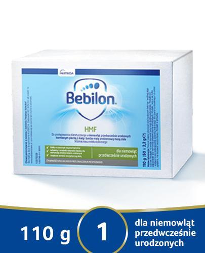 Bebilon HMF Dodatek do mleka kobiecego dla niemowląt z małą i bardzo małą urodzeniową masą ciała - Apteka internetowa Melissa