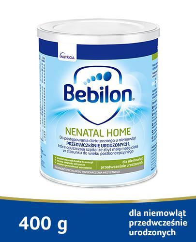 BEBILON NENATAL HOME Z PRONUTRA Mleko modyfikowane w proszku - 400 g