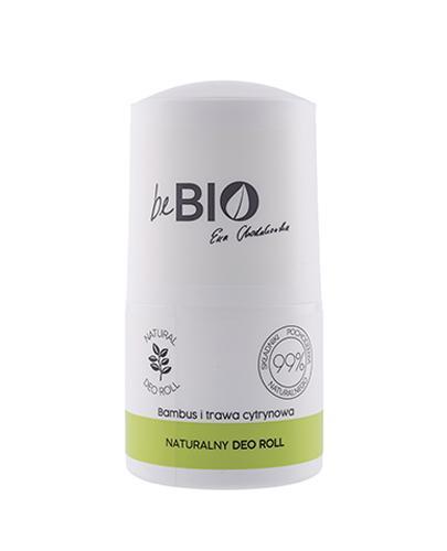BeBio Naturalny Deo Roll Bambus i Trawa cytrynowa - 50 ml - cena, opinie, właściwości