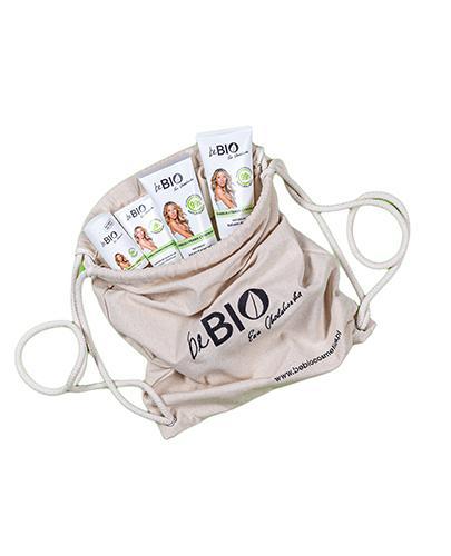 BeBio Zestaw Bambus i Trawa Cytrynowa Żel pod prysznic - 200 ml + Dezodorant roll- on - 50 ml + Balsam do ciała - 200 ml + Krem do rąk - 75 ml + Eko-plecak - cena, opinie, właściwości - Apteka internetowa Melissa