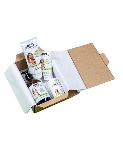 BeBio Zestaw Bambus i Trawa cytrynowa Żel pod prysznic - 400 ml + Dezodorant roll- on - 50 ml + Balsam do ciała - 200 ml + Krem do rąk - 75 ml - cena, opinie, właściwości
