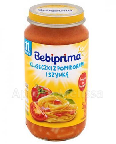 BEBIPRIMA Kluseczki z pomidorami i szynką po 11 m-cu - 250 g - Apteka internetowa Melissa