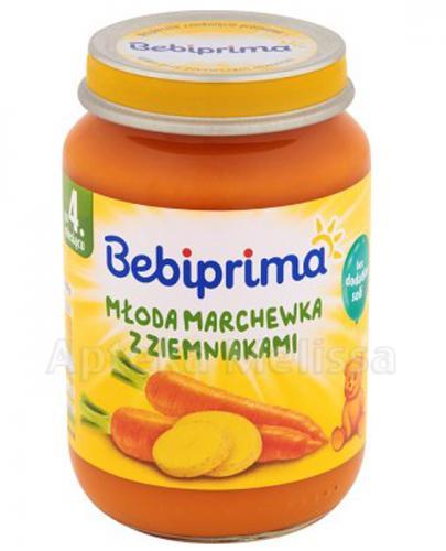 BEBIPRIMA Młoda marchewka z ziemniakami po 4 m-cu - 190 g - Apteka internetowa Melissa