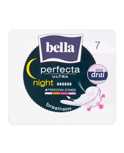 BELLA PERFECTA ULTRA NIGHT Podpaski silky drai - 7 szt. - Apteka internetowa Melissa