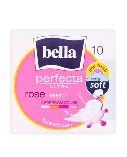 BELLA PERFECTA ULTRA ROSE Podpaski - 10 szt.