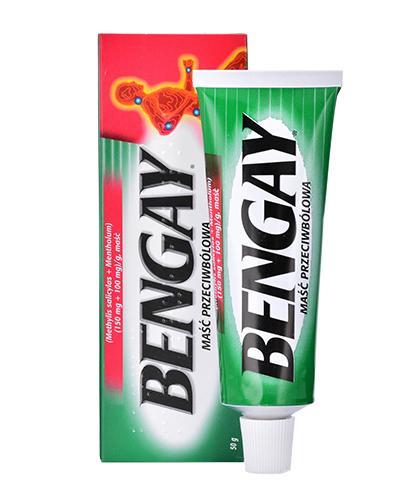 BEN-GAY Maść przeciwbólowa - 50 g - Apteka internetowa Melissa