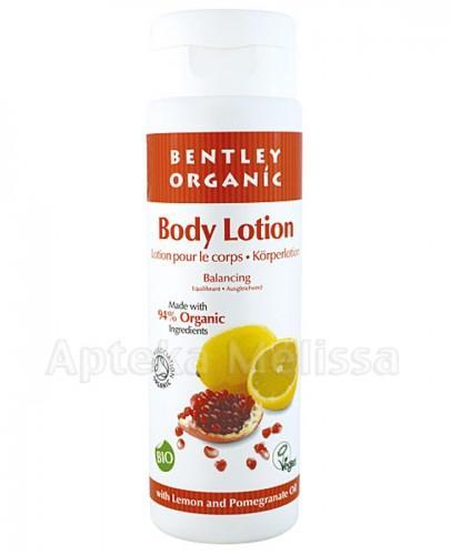 BENTLEY ORGANIC Mleczko do ciała cytryna - 250 ml