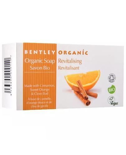 BENTLEY ORGANIC Odżywiające mydło z cynamonem - 150 g - Apteka internetowa Melissa
