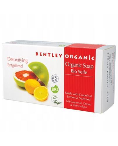 BENTLEY ORGANIC Detoksykujące mydło z grejpfrutem - 150 g - Apteka internetowa Melissa