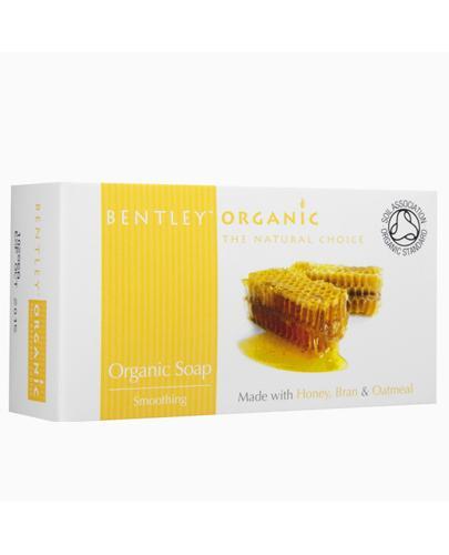 BENTLEY ORGANIC Wygładzające mydło z miodem - 150 g - Apteka internetowa Melissa