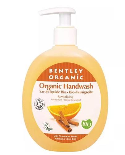 BENTLEY ORGANIC Odżywiające  mydło w płynie z cynamonem, słodką pomarańczą i goździkami - 250 ml - Apteka internetowa Melissa
