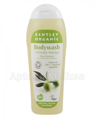 BENTLEY ORGANIC Żel pod prysznic z oliwką, olejem herbacianym i eukaliptusem - 250 ml - Apteka internetowa Melissa