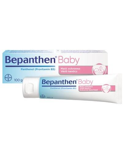 BEPANTHEN BABY Maść ochronna - 100 g. Maść przeciw odparzeniom pieluszkowym dla niemowląt.
