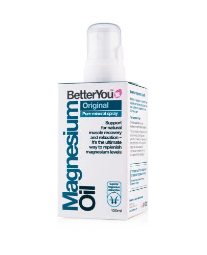 BETTER YOU ORIGINAL Olejek magnezowy w sprayu - 100 ml - cena, opinie, właściwości - Drogeria Melissa