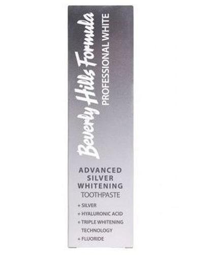 Beverly Hills Professional White Advanced Silver Whitening Profesjonalna pasta wybielająca do zębów ze srebrem - 100 ml - cena, opinie, właściwości - Apteka internetowa Melissa