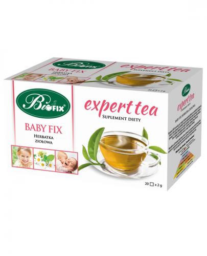 BI FIX Expert tea Baby fix herbatka ziołowa  - 20 sasz.