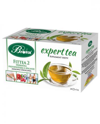 BI FIX Expert tea Fittea 2 herbatka ziołowo-owocowa - 20 sasz.