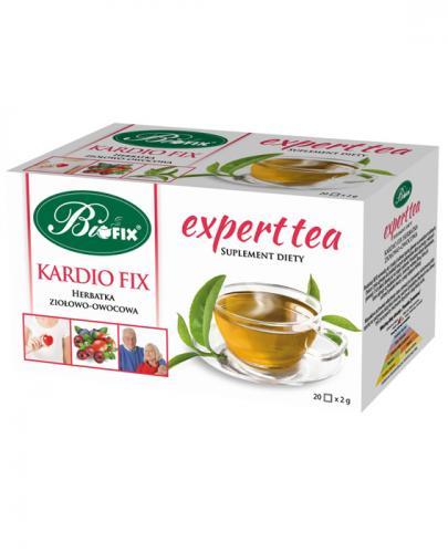 BI FIX Expert tea Kardio fix herbatka ziołowo-owocowa - 20 sasz.