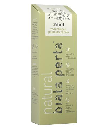 BIAŁA PERŁA Natural Mint wybielająca pasta do zębów - 75 ml