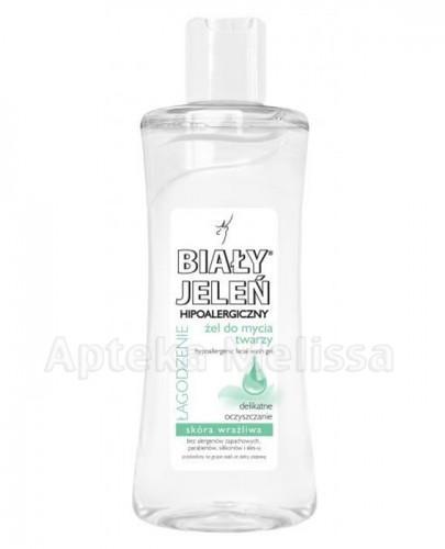 BIAŁY JELEŃ Hipoalergiczny żel do mycia twarzy - 175 ml