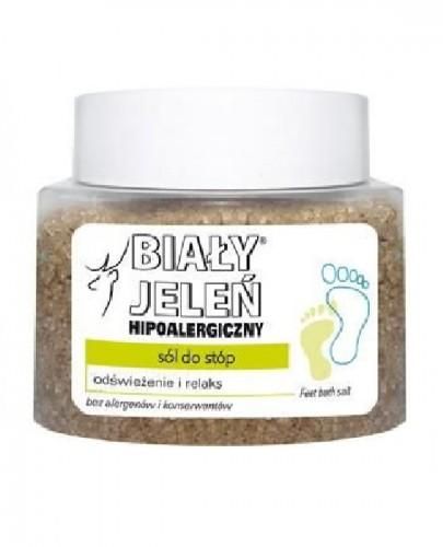 BIAŁY JELEŃ Hipoalergiczna sól do stóp -  500 g  - Apteka internetowa Melissa