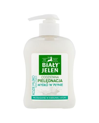 BIAŁY JELEŃ Hipoalergiczne mydło w płynie z ekstraktem z koziego mleka - 300 ml