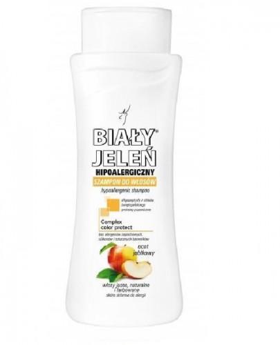 BIAŁY JELEŃ Hipoalergiczny szampon do włosów jasnych,farbowanych blond i rozjaśnianych - 300 ml - Apteka internetowa Melissa