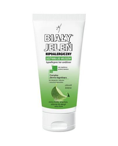 BIAŁY JELEŃ Odżywka do włosów czysta chlorofil i biotyna - 200 ml - Apteka internetowa Melissa