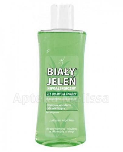 BIAŁY JELEŃ Hipoalergiczny żel do mycia twarzy z aloesem i ogórkiem - 175 ml - Apteka internetowa Melissa