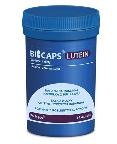 BICAPS LUTEIN - 60 kaps. - Apteka internetowa Melissa